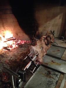 fuoco agnello